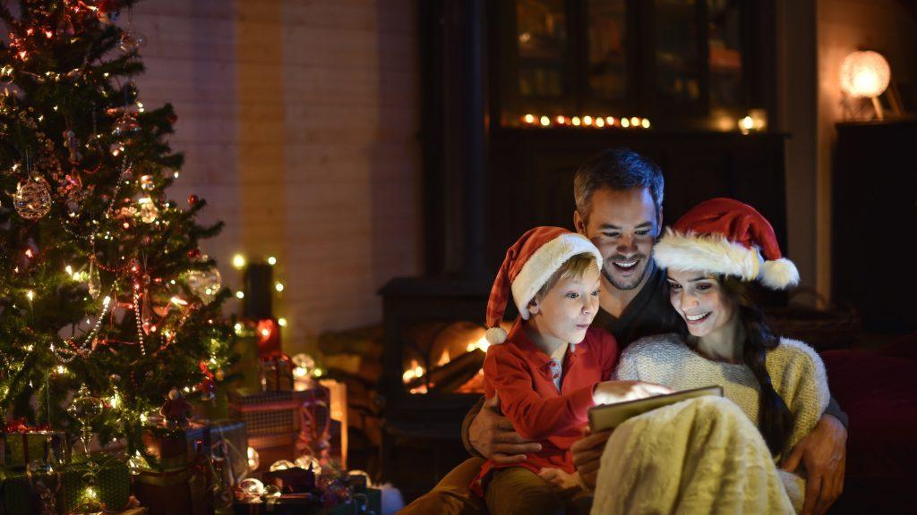 Vánoce rodina